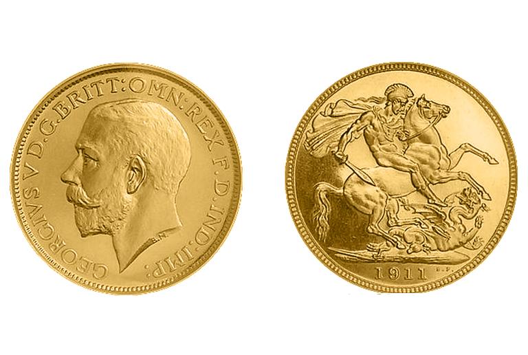 Χρυσή λίρα Γεωργίου